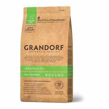 Grandorf lamb & Rice Adult Mini сухой корм для собак мелких пород, ягненок с рисом - 1 кг (3 кг)