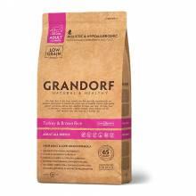 Grandorf turkey & Rice Adult All Breeds сухой корм для собак всех пород, индейка с рисом - 1 кг (3 кг)