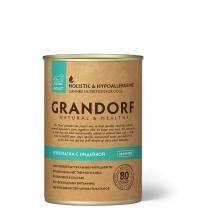 Grandorf Turkey With Quail влажный корм для собак всех пород c куропаткой с индейкой - 400 г