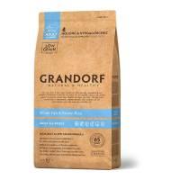 Grandorf white Fish & Rice Adult All Breeds сухой корм для собак всех пород, белая рыба с бурым рисом - 1 кг (3 кг) (12 кг)