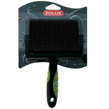 Щетка-пуходерка Zolux пластиковая с гибкими щетинками большая, L