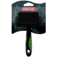 Щетка-пуходерка Zolux пластиковая с гибкими щетинками малая, S
