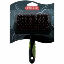 Щетка-пуходерка Zolux пластиковая средняя,M