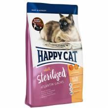 Happy Cat Adult Sterilised Atlantik Lachs сухой корм для стерилизованных кошек с лососем 1,5 кг (4 кг) (10 кг)