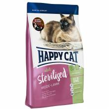 Happy Cat Adult Sterilised Weide Lamm для стерилизованных кошек с ягненком 1,4 кг (4 кг),  (10 кг)