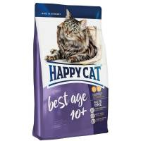 Happy Cat Best Age 10+ сухой корм для пожилых кошек с домашней птицей 1,4 кг (10 кг)