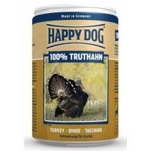 Влажный корм Happy Dog 100% Truthahn для собак при аллергии и проблемах с пищеварением с индейкой - 400 г х 6 шт
