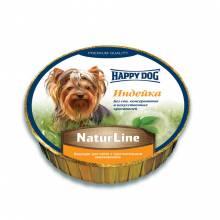 Паштет Happy Dog для щенков всех пород старше 20 недель с индейкой - 85 г х 11 шт
