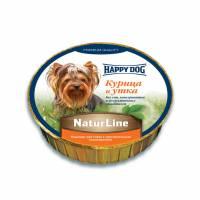 Паштет Happy Dog для щенков всех пород старше 20 недель с курицей и уткой - 85 г х 11 шт