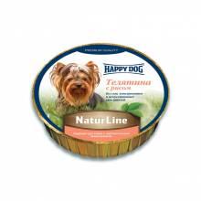 Паштет Happy Dog для щенков всех пород старше 20 недель с телятиной и рисом - 85 г х 11 шт