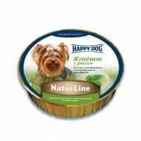 Паштет Happy Dog для щенков всех пород старше 20 недель с ягненком и рисом - 85 г х 11 шт