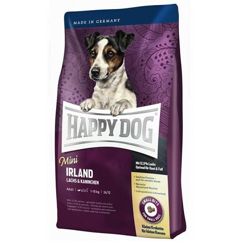 Happy Dog Mini Ireland сухой корм гипоаллергенный для взрослых собак мелких пород 1 кг (4 кг)