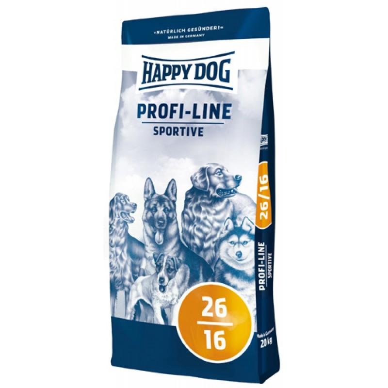 Happy Dog Profi Line Sportive 26/16 сухой корм для взрослых активных собак или собак живущих на улице 20 кг