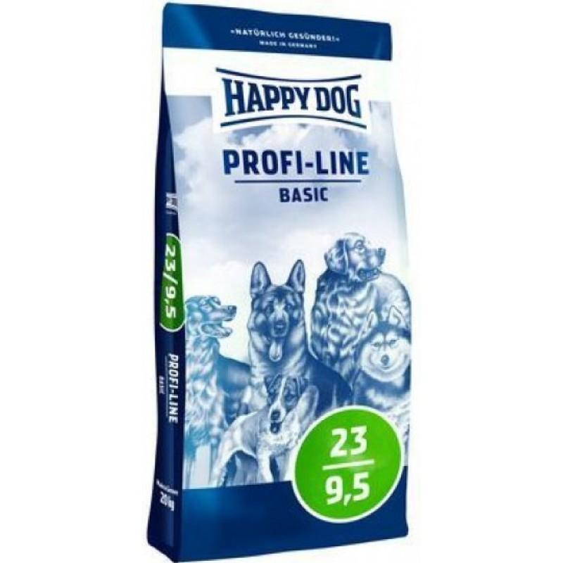 Happy Dog Profi Basis 23/9,5 - корм для взрослых собак любых пород с нормальными потребностями в энергии 20 кг
