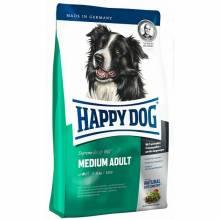 Happy Dog Adult Medium сухой корм для взрослых собак средних пород с птицей и лососем 1 кг (4 кг) (12,5 кг)