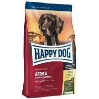 Happy Dog Africa - беззерновой сухой корм для взрослых собак с мясом страуса 1 кг (4 кг) (12,5 кг)