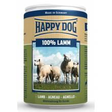 Влажный корм Happy Dog 100% Lamm для взрослых собак при аллергии и проблемах с пищеварением с ягненком - 400 г х 6 шт