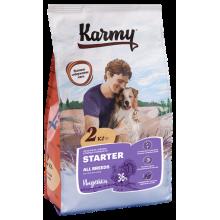 Karmy Стартер Индейка корм для щенков всех пород с момента отъема до 4-х месяцев, беременных и кормящик сук 2 кг (15 кг)