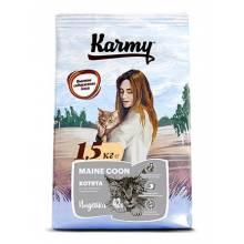 Karmy Maine Coon корм для котят породы Мейн-кун в возрасте до 1 года с индейкой  400 гр (1,5 кг) (10 кг)