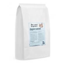 Для самых преданных корм для кошек, лосось с рисом 10 кг