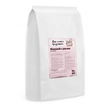 Для самых преданных корм для кошек, ягненок с рисом 10 кг
