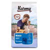 Karmy Maxi Adult сухой корм для взрослых собак крупных пород с телятиной 2 кг (15 кг)