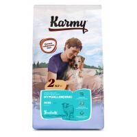 Karmy Mini Hypoallergenic сухой корм для взрослых собак мелких пород при аллергии с ягненком 2 кг (15 кг)