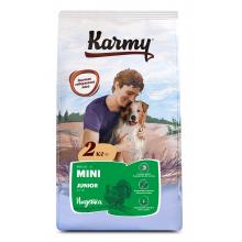 Karmy Мини Юниор Индейка корм для щенков мелких пород в возрасте до 1 года. 2 кг (15 кг)