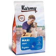 Karmy Maxi Adult сухой корм для собак крупных пород  с индейкой 2 кг (15 кг)