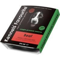 Влажный корм Kennels` Favourite 100% Beef для собак всех пород с говядиной - 395 гр х 10 шт