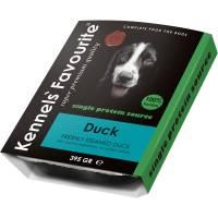 Влажный корм Kennels` Favourite 100% Duck корм для собак с уткой - 395 гр х 10 шт