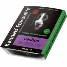 Влажный корм Kennels` Favourite 100% Venison для собак с олениной - 395 гр х 10 шт