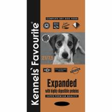 Kennels` Favourite 21% Expanded сухой корм для взрослых стерилизованных собак с излишним весом - 20 кг
