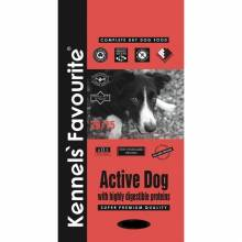 Kennels` Favourite Active Dog корм для взрослых собак со средним уровнем активности с птицей и рисом - 4 кг (20 кг)