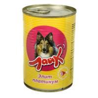 """Мясные консервы для собак ЛАЙК """"Элит платинум"""" для взрослых собак всех пород - 415 гр. х 15 шт"""