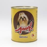 """Мясные консервы для собак ЛАЙК """"Щенки"""" сердце с печенью для щенков всех пород от 4 до 12 месяцев - 415 гр. х 15 шт."""