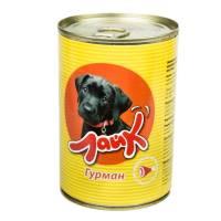 """Мясные консервы для собак ЛАЙК """"Гурман"""" говядина и сердце для взрослых собак всех пород - 415 гр. х 15 шт."""