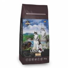 Landor Adult Dog Fish сухой корм для собак всех пород с рыбой и рисом - 1 кг (3 кг) (15 кг)