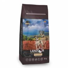 Landor Adult Grain Free Lamb & Potato сухой корм для собак всех пород с ягенком и бататом - 1 кг (3 кг) (15 кг)