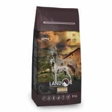 Landor Adult Large Breed Dog сухой корм для собак крупных пород с ягненком и рисом - 3 кг (15 кг)