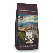 Landor Breed Dog сухой корм для собак мелких пород с уткой и рисом - 1 кг (3 кг) (15 кг)