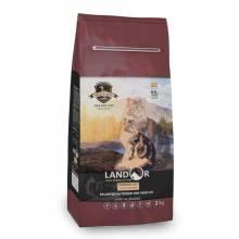 Landor Indoor Cat сухой корм для кошек, живущих в помещении, с уткой и рисом - 400 г (2 кг) (10 кг)