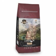 Landor Kitten сухой корм для котят с уткой и рисом - 400 г (2 кг) (10 кг)