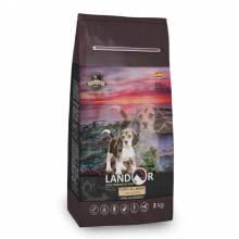 Landor Puppy сухой корм для щенков всех пород от 1 до 18 месяцев, с уткой и рисом - 1 кг (3 кг) (15 кг)