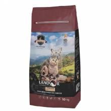 Landor Sterilized & Light сухой корм для кошек с избыточным весом и стерилизованных, с кроликом и рисом - 400 г (2 кг) (10 кг)