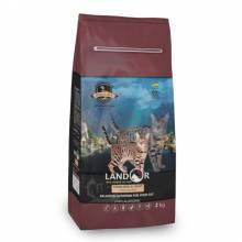 Landor Sterilized & Light сухой корм для кошек с избыточным весом и стерилизованных, с уткой и рисом - 400 г (2 кг) (10 кг)