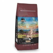 Landor сухой корм для кошек с функцией контроля образования комочков шерсти и контроля веса, с ягненком и бататом - 400 г (2 кг) (10 кг)