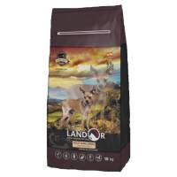 Landor сухой корм для собак мелких пород с ягненком и рисом - 1 кг (3 кг) (15 кг)