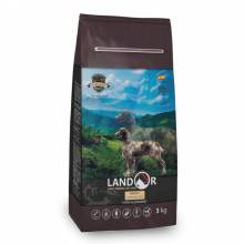 Landor сухой корм для собак всех пород с ягненком и рисом - 1 кг (3 кг) (15 кг)