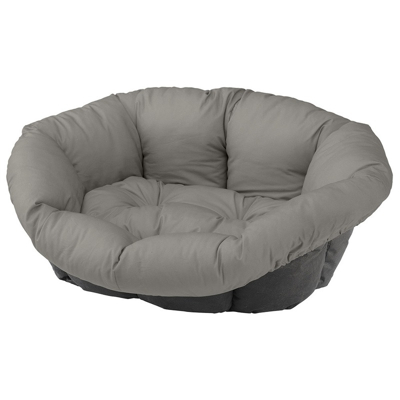 Ferplast Spare Sofa запасная подушка для лежака для средних и крупных собак, серая размер 8, 85х62х28,5 см